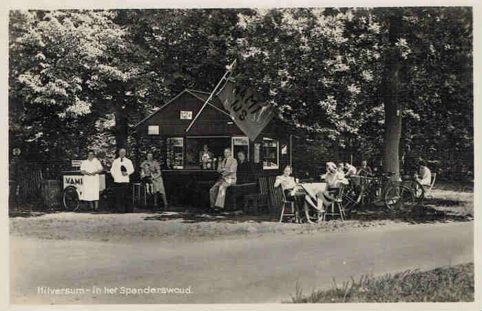 Spanderswoud+Oude+Meentweg+Boslaan+1940+J.+Coerdes